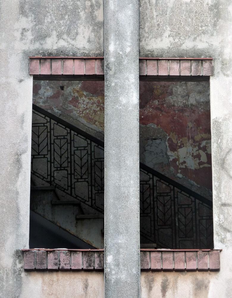Windows in Havana, Cuba